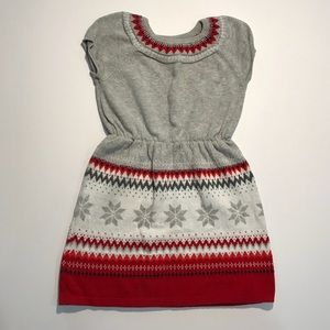 Gymboree 5T Holiday Christmas Sweater Dress